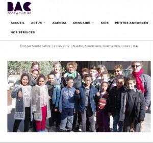 BAC - boite a culture  http://www.boiteaculture.com/un-pour-un-et-le-cinema-pour-tous/ 21/02/2017