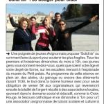 Vaucluse Matin  le 21/03/2017