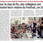 La Provence le 24/07/2016